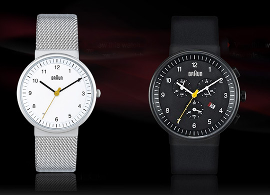 6fc2833dc Braun launches new watch collection | The Norté Blog